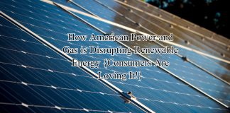 How American Power and Gas is Disrupting Renewable Energy {Consumers Are Loving It!}