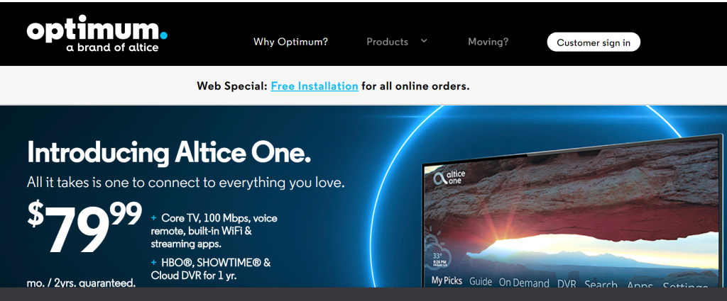 Altice One Box Specs