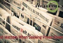 What Matters When Seeking Press Coverage