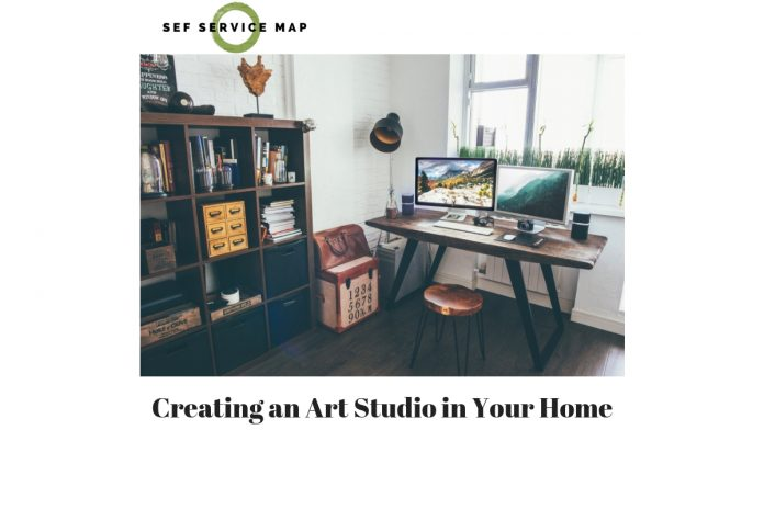 Creating an Art Studio in Your Home